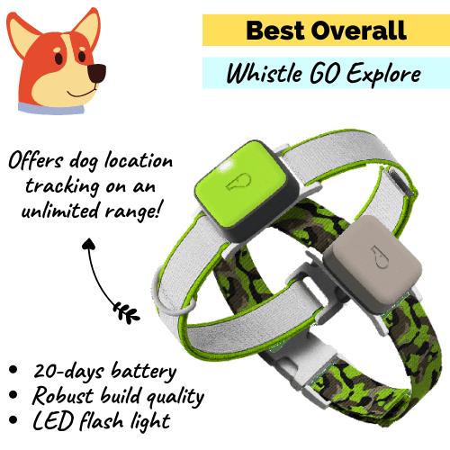 Whistle Go Explore Dog GPS Tracker